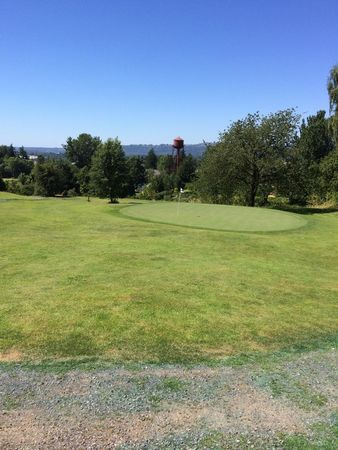 Overview of golf course named Pub Course at Mcmenamins Edgefield