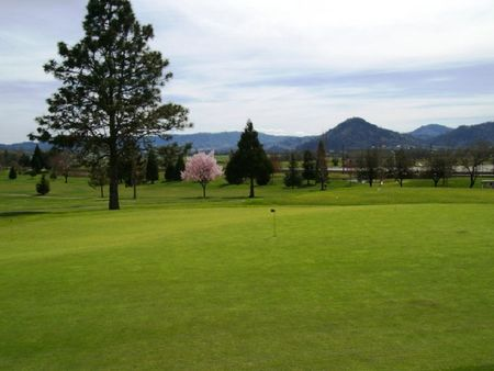 Overview of golf course named Roseburg Country Club