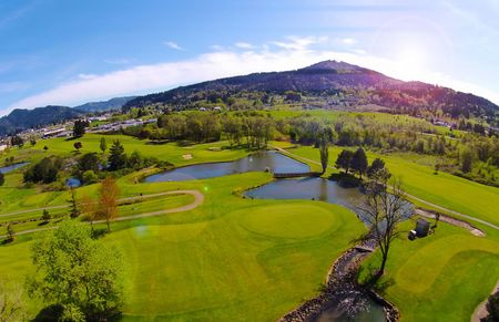 Overview of golf course named Umpqua Golf Resort