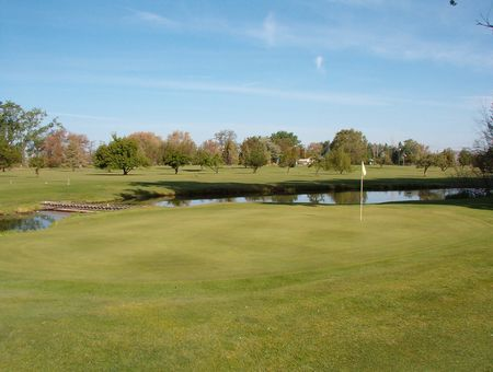Overview of golf course named Willow Run Golf Course