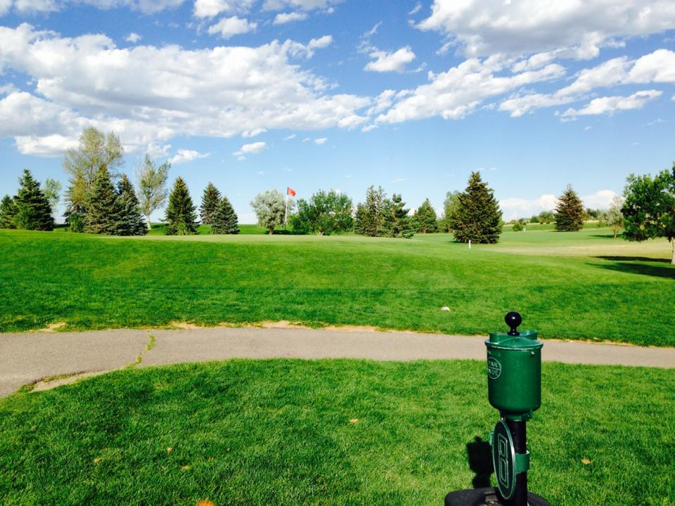 Overview of golf course named Prairie View Golf Course