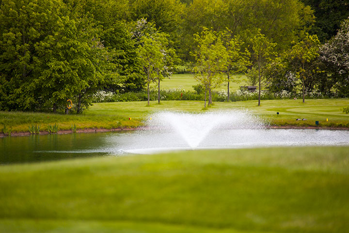 Cover of golf event named The Nottinghamshire Spring Invitation