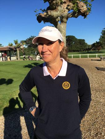 Avatar of golfer named Sophie Bruneton