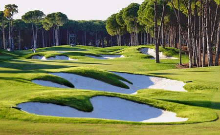 Overview of golf course named Regnum Carya Golf & Spa Resort