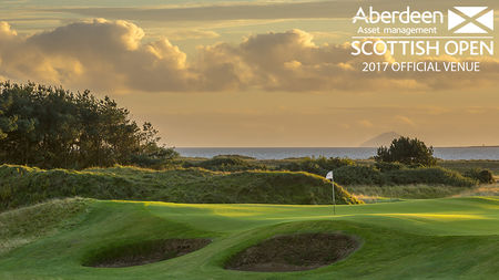 Cover of golf event named Scottish Open