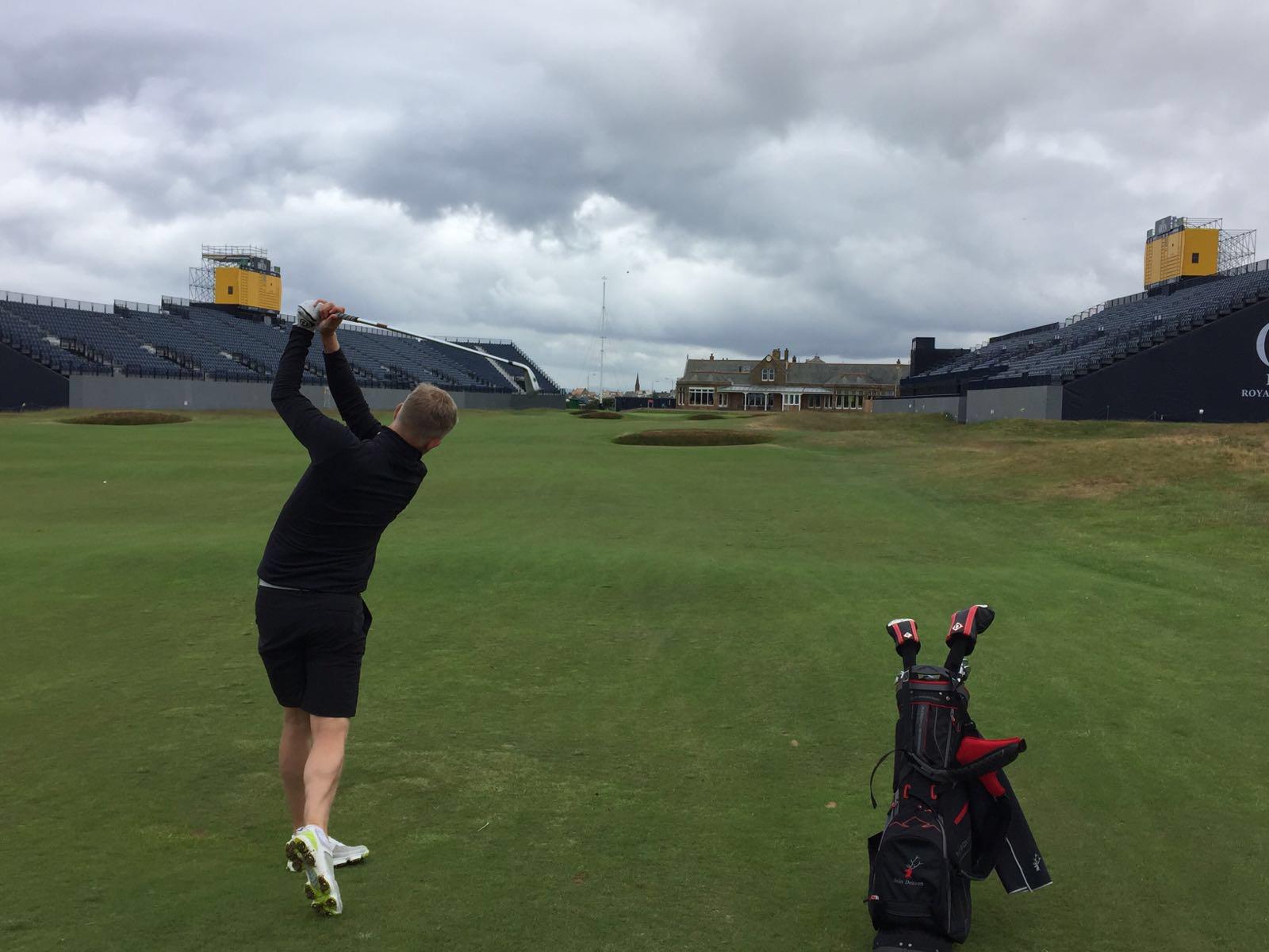 Avatar of golfer named Iain Deacon