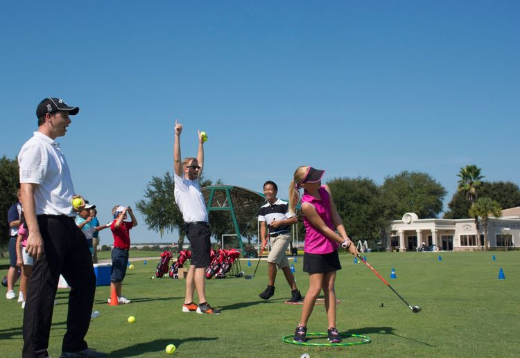 Leadbetter kids golf day cover picture