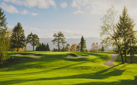 Bled golf course cover picture