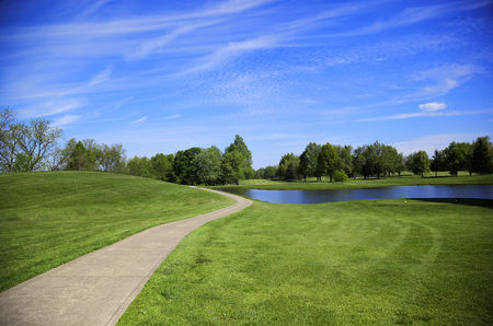 Overview of golf course named Shelby Country Club