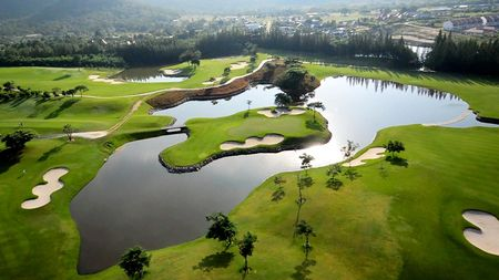 Overview of golf course named Black Mountain Golf and Country Club