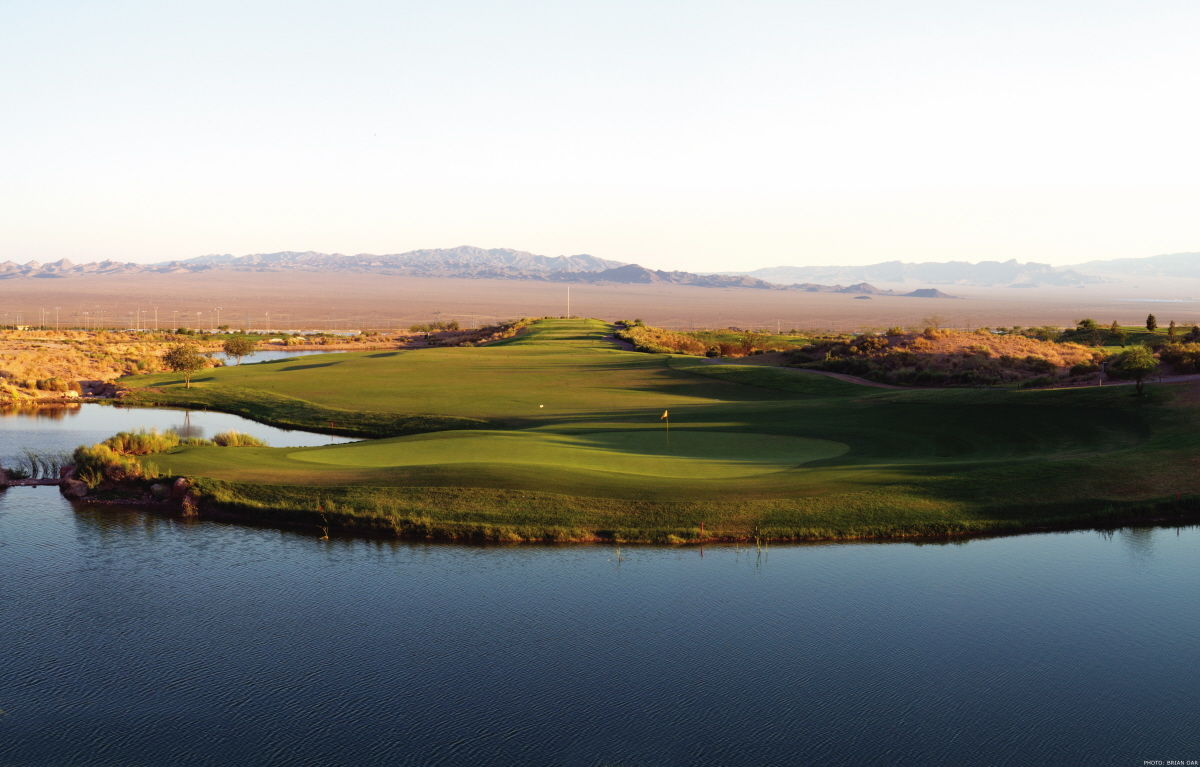 Boulder city municipal golf course cover picture