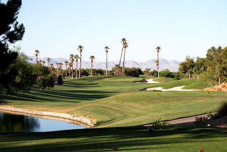 Overview of golf course named Canyon Gate Country Club