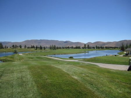 Overview of golf course named Thunder Canyon Country Club