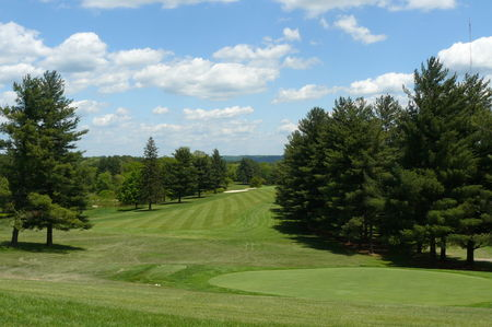 Overview of golf course named Athens Country Club