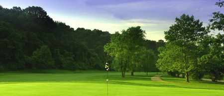 California Golf Course Cover Picture