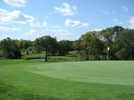 Overview of golf course named Crown Hill Golf Club