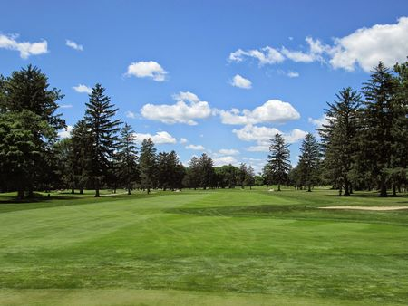 Overview of golf course named Findlay Country Club