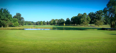 Overview of golf course named Pleasant Valley Country Club