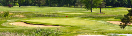 Overview of golf course named Powderhorn Golf Course