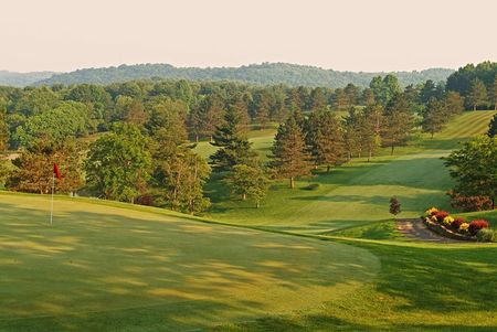 Overview of golf course named Salt Fork State Park Golf Course