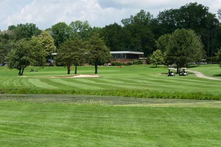 Overview of golf course named Seneca Golf Course