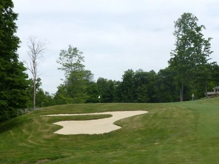 Overview of golf course named Tanglewood Club
