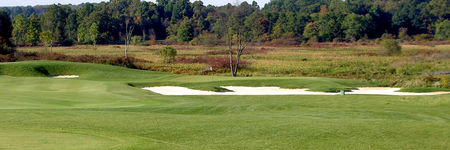 Overview of golf course named The Links at Firestone Farms