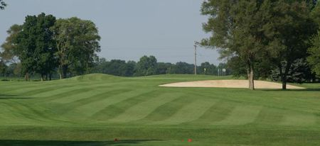 Overview of golf course named Thorn Apple Country Club