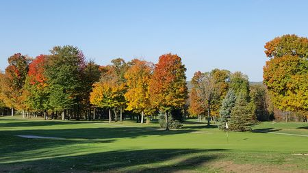 Overview of golf course named Wicked Woods Golf Club