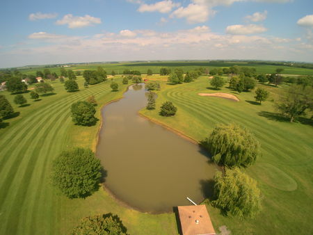 Overview of golf course named Willow Ponds Golf Course