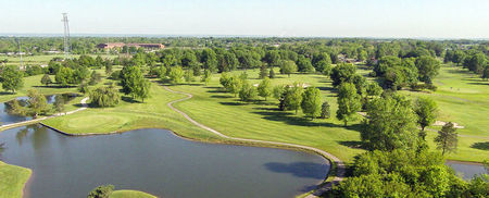 Overview of golf course named Green Crest Golf Club