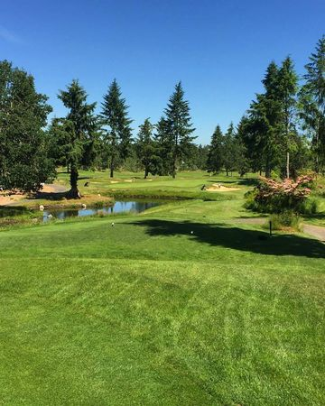 Overview of golf course named Colfax Golf Club