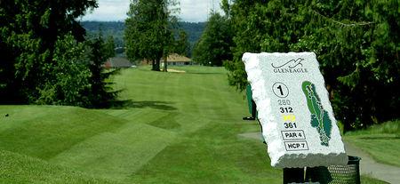 Gleneagle golf course cover picture