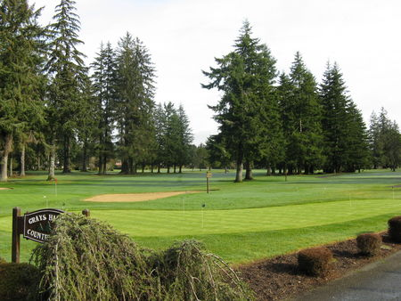 Overview of golf course named Grays Harbor Country Club
