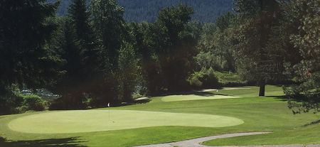 Overview of golf course named Leavenworth Golf Club