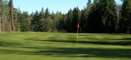 Overview of golf course named Point Roberts Golf and Country Club