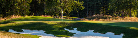 Overview of golf course named Salish Cliffs Golf Club