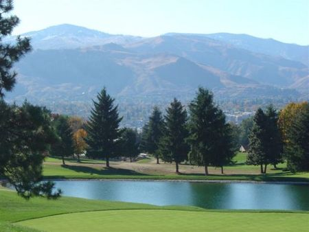 Overview of golf course named Wenatchee Golf and Country Club