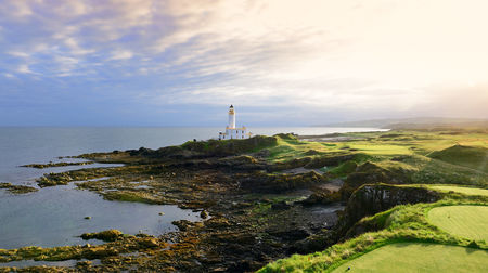 Overview of golf course named Trump Turnberry - The Ailsa