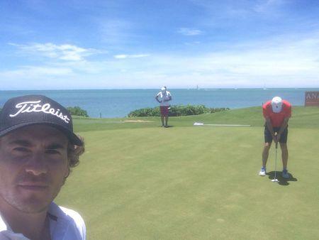 Four seasons golf club mauritius at anahita clement berardo checkin picture