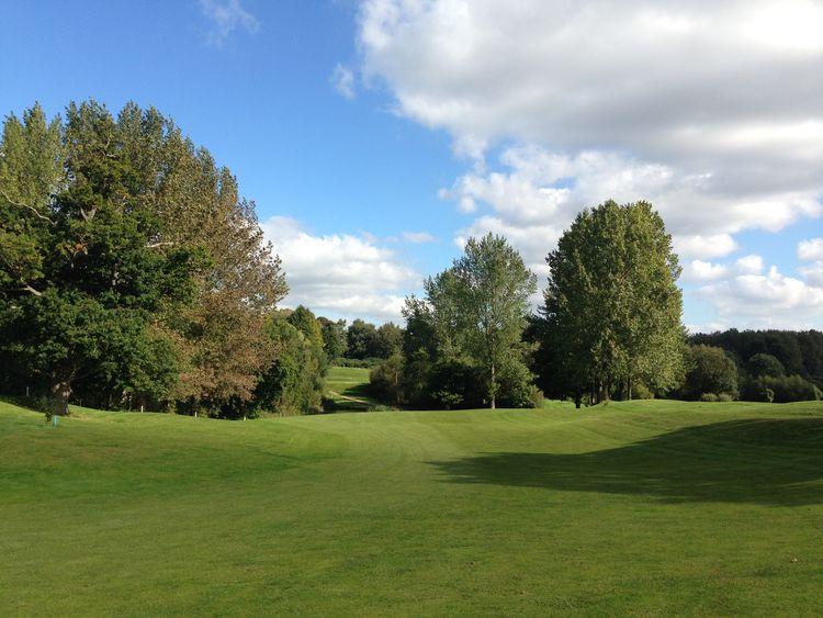 Ufford park golf club cover picture