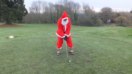 Hosting golf course for the event: The Ufford Park Santa Cup