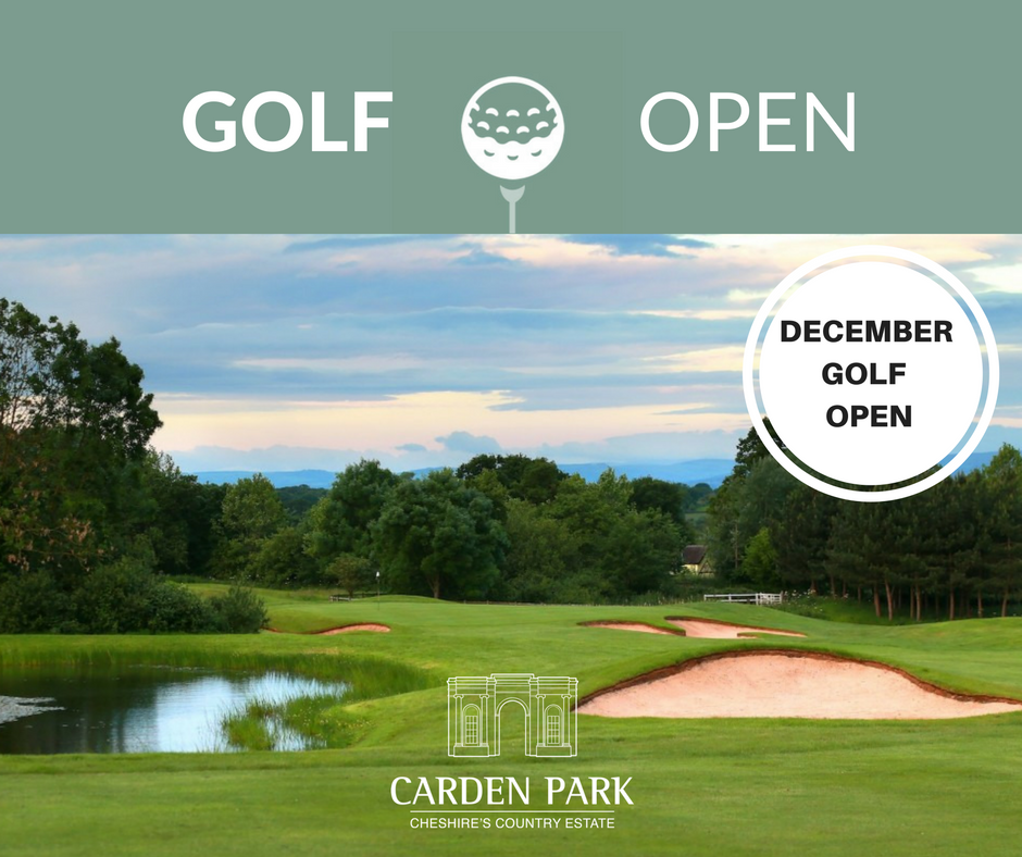 Cover of golf event named CHRISTMAS GOLF OPEN