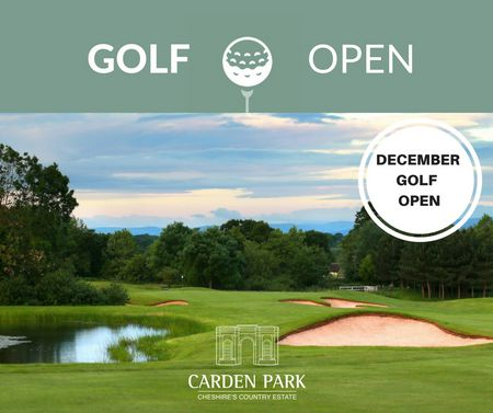 CHRISTMAS GOLF OPEN  Cover