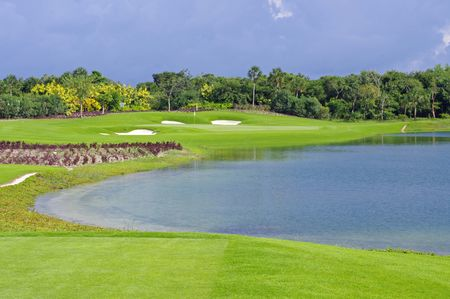 Overview of golf course named Golf Grand Coral Riviera Maya