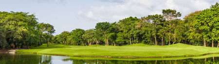 Overview of golf course named Hard Rock Golf Club Riviera Maya