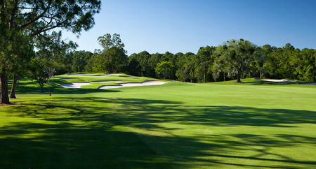 Overview of golf course named Disney's Magnolia Golf Course