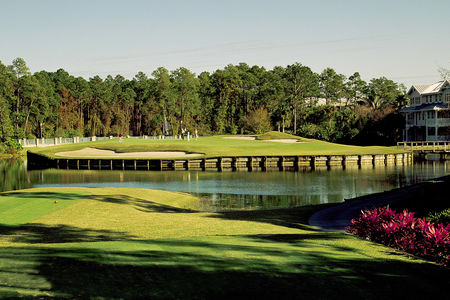 Overview of golf course named Disney's Lake Buena Vista Golf Course