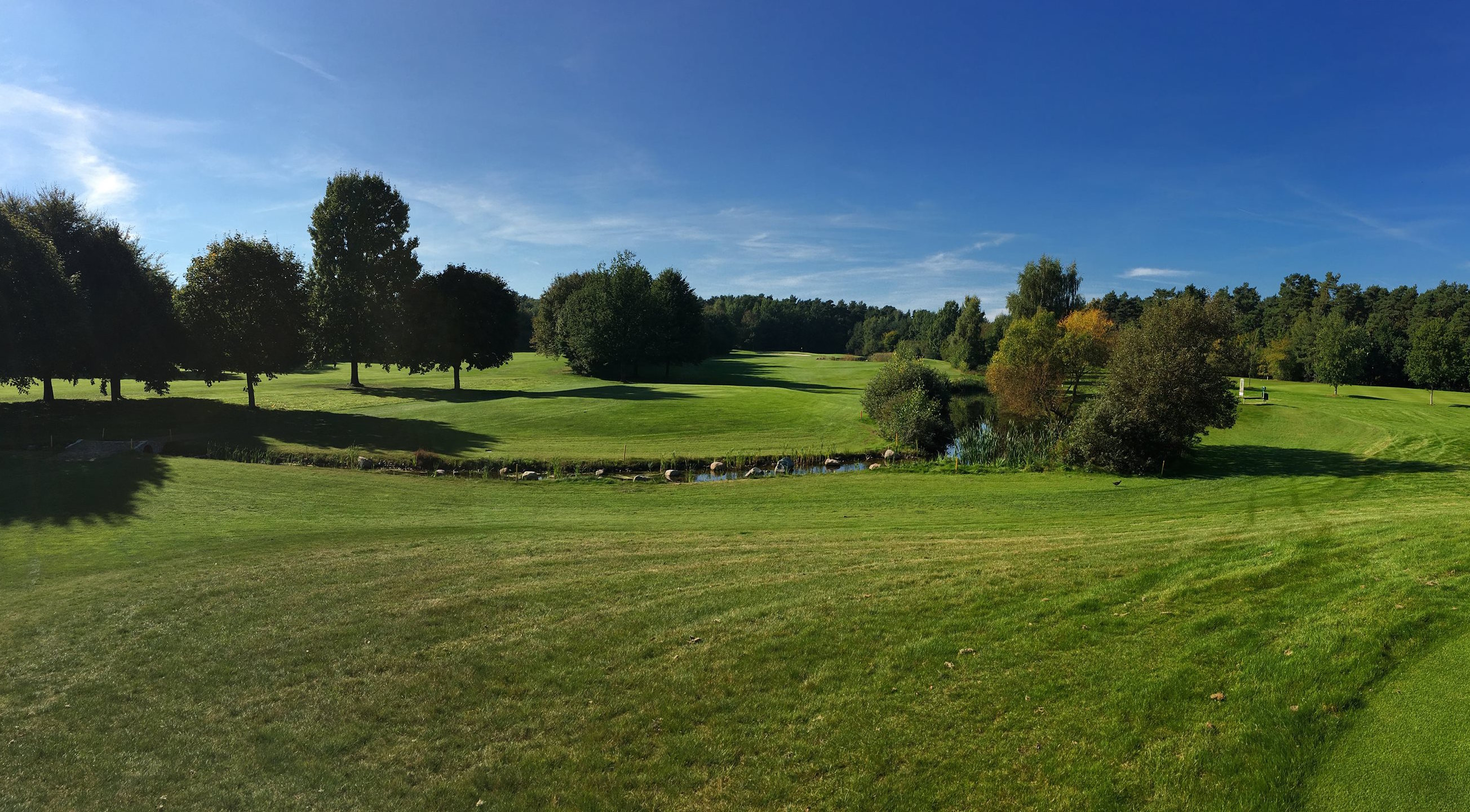 Overview of golf course named Syke Golf Club