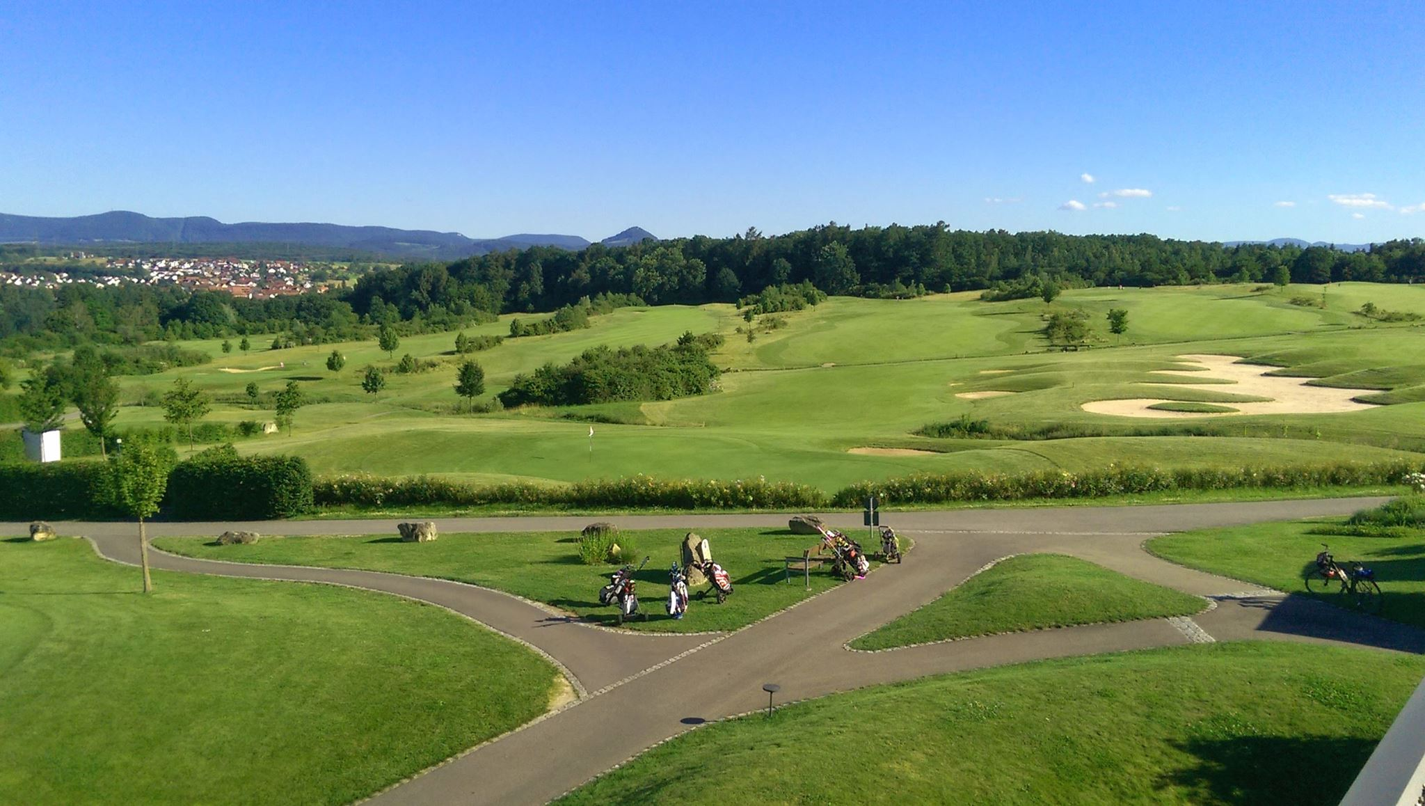 Overview of golf course named Golf Club Hammetweil
